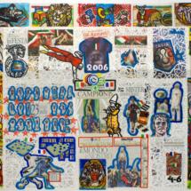 Italia Mondiali (2006), 160 x 196 cm, acrylic on canvas, inv. PH581B