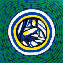 Senza titolo (2014), 60 x 60 cm, acrylic on canvas, inv. PH791
